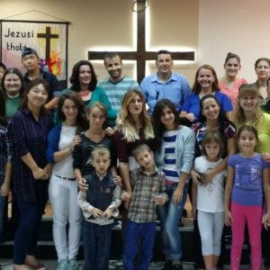 Gathering of believers.